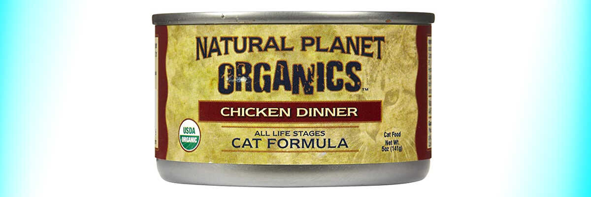 Natural Planet Organics Chicken Dinner For Cats