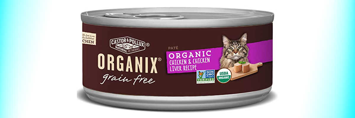 Organix Organic Chicken Liver Pate for cats