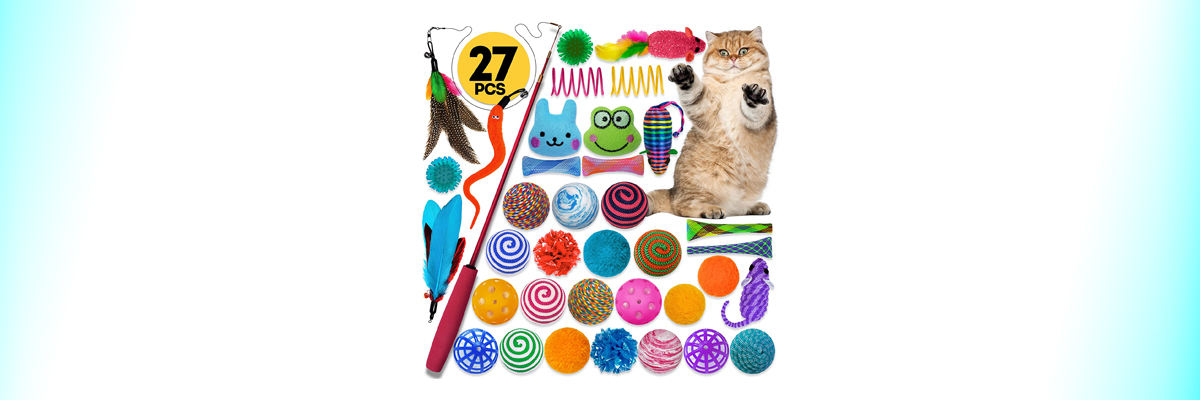 Cat Toy Assortments by Cowfish