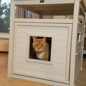 Litter Box Cover Table