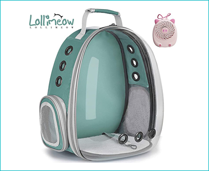 Lollimeow Cat Backpack
