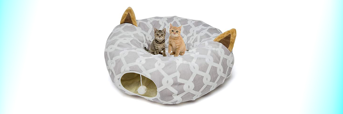 Luckitty Cat Tunnel Bed
