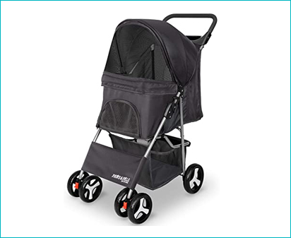 Paws and Pals Slots Jogger Cat Stroller
