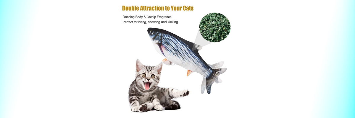 Senneny Electric Moving Fish Cat Toy