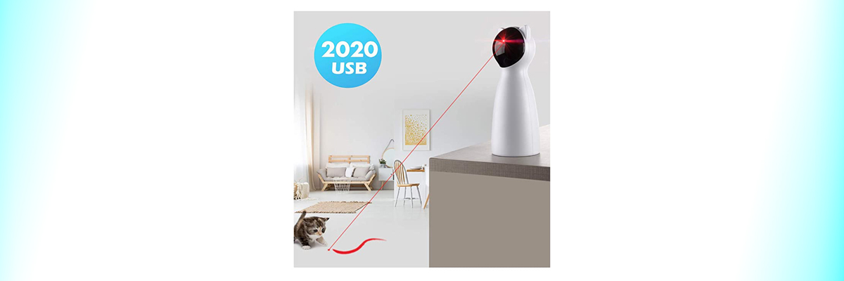Laser cat Toy by Yvelife