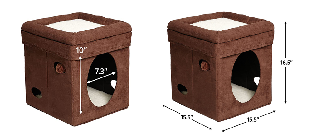 Curious Cat Cube by MidWest Homes  Cat House, Cat Condo