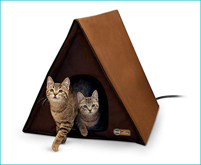 K&H Pet Products A-Frame Outdoor Cat House