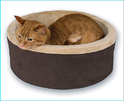 Kitty Heated Cat Bed by K&H Pet Products